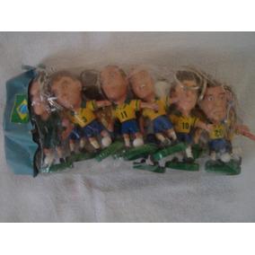 Coleção De Chaveiros Da Seleção De 1998