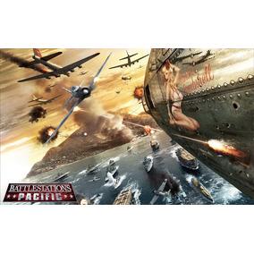 Poster Cartaz Jogo Battlestations Pacific #1 - 30x42cm