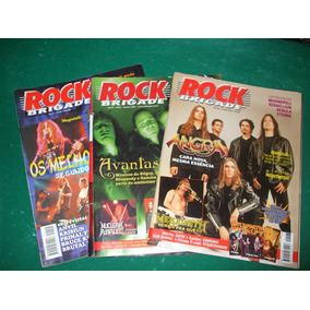 Revistas Rock Brigade Valor Das 3