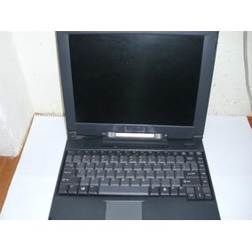 Notebook Laptop Microlog P79te Pentium Mmx Com Defeito
