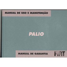 Manual Proprietário Palio 2007 Elx G4 C/suplementos E Bolsin