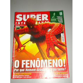 Revista Super Interessante - O Fenômeno - Homem-aranha