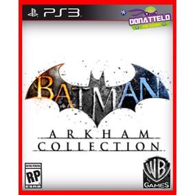 Coleção Batman Arkham (asylum, City E Origins) Ps3 Psn