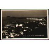 Praia De Copacabana De Noite Ca 1935