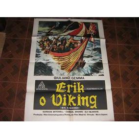 Cartaz De Cinema Original Erik O Viking Giuliano Gemma