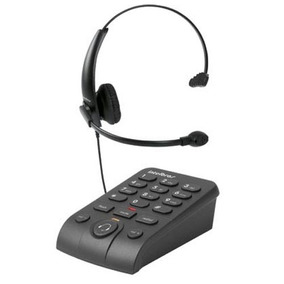 Telefone Headset Com Base Discadora Intelbras Hsb50 - Preto
