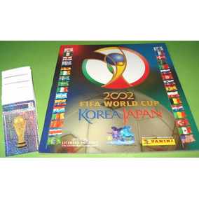 Álbum Copa Do Mundo 2002 Completo Figurinhas Soltas
