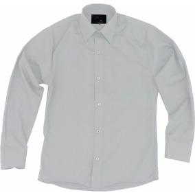 Camisa Vestir Adulto Gris Claro Perla Tallas Extras 44 A 50