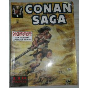 Gibi Conan Saga Nº 1 - Abril - 1993