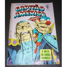 Capitão América Nº115 Ed. Abril 12/1988 Usado .