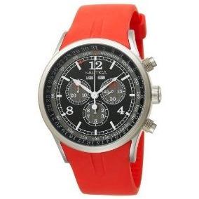 15d8a3d4291 Relogio Nautica Laranja - Relógios De Pulso no Mercado Livre Brasil