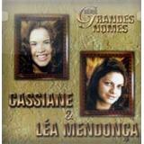 Cd Cassiane & Léa Mendonça - Grandes Nomes Mk * Lacrado Raro