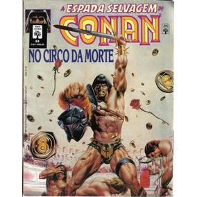 105 Revista Hqs 1991- Rvt- A Espada Selvagem De Conan- 84