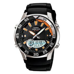3e648e8f236 Relogio Casio Temperatura Lua Mare - Relógios De Pulso no Mercado ...