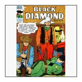 Black Diamond Nº 7: O Mistério Do Ouro - Ebal - 1975 - Hq