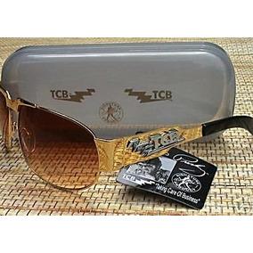 Elvis Presley Lindos Óculos De Sol  com Tcb Todo De Metal   23289a2258