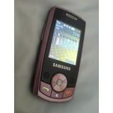 Samsung Sgh J700i Rosa Pink Cam 1.3mpx Radio Bluetooth Slaid