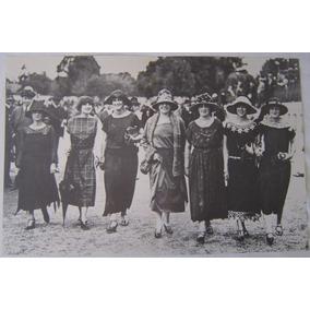 Fotografia Antiga Grupo De Mulheres, Revista Nosso Século.