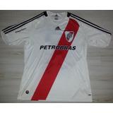 Camisa De Jogo River Plate adidas #2 Ferrero Pocker Stars Gg