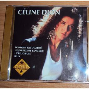 Cd Album Celine Dion Gold -raro-importado