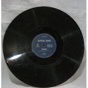 Disco 78 Rpm - Odeon 14.847 - Altemar Dutra
