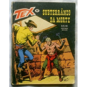 Tex Nº 117- Subterrâneo Da Noite - Editora Vecchi - 1980.