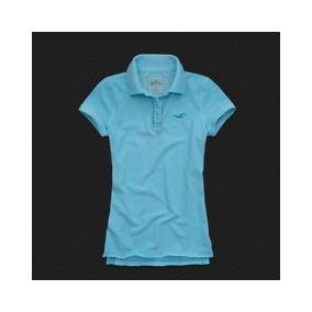 b3f444dd2e Camisa Polo Feminina Hollister - Pólos Manga Curta Femininas no ...