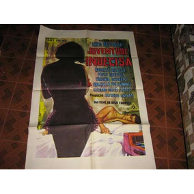 Cartaz De Cinema Original Juventude Indecisa Art Films