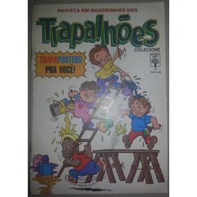 Gibi Revista Em Quadrinhos Dos Trapalhões Nº 2 Editora Abril