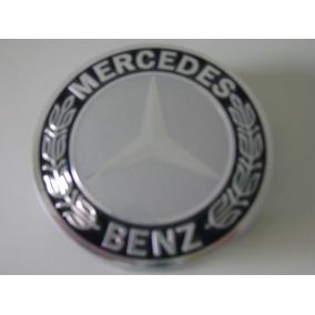 Calota Miolo Centro Roda Mercedes C180, C200, C250, E320.