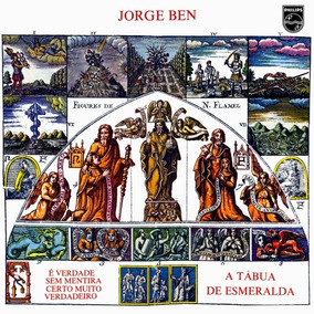Lp Jorge Ben - A Tábua De Esmeralda (polysom)