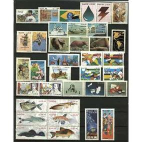 Ano Completo-1988 - 36 Selos