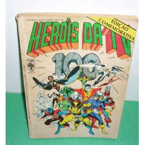 Heróis Da Tv Nº 100 01/10/ 1987 Ed. Abril ( Usado ).