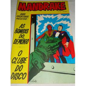 Mandrake Nº 216 De 1974 Cores As Bombas Do Demônio Rge Banca