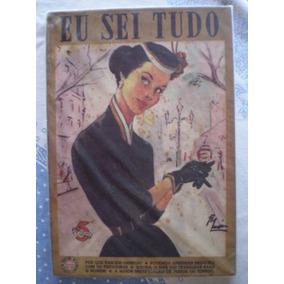 Revista Eu Sei Tudo Nº 02 - Julho De 1954