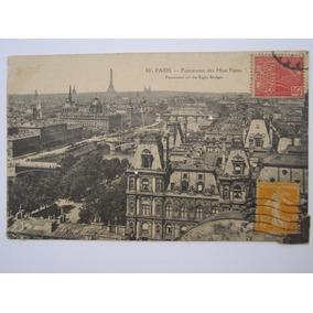Postal Antigo Paris França