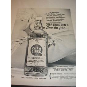 L - 290/ Gkf250 Propaganda Antiga Cuba Libre Ron Merino