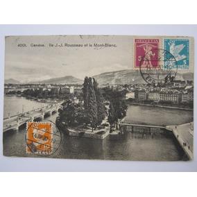 Postal Antigo Suiça