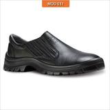 25bec8245f8bb Sapato Elastico Calçado Proteçao Segurança Epi Couro Vaqueta