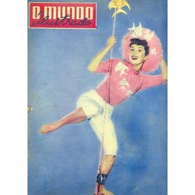 Mundo Ilustrado 46 (1955)-capa Foto Debbie Reynolds