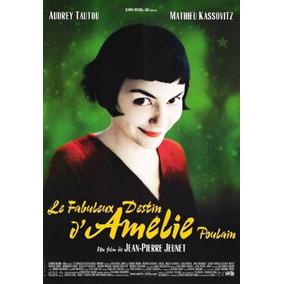 Poster Cartaz O Fabuloso Destino De Amelie Poulain - 30x42cm