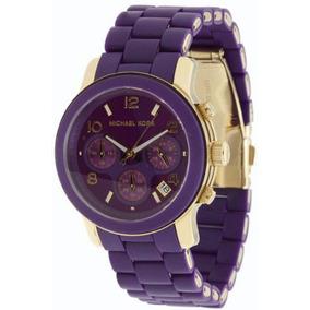 9abe45b70e5 Relogio Michael Kor Mk5324 Roxo - Relógio Michael Kors no Mercado ...