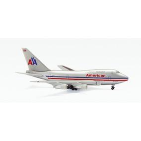 Miniatura Boeing 747 Sp American Airlines 1/500 Herpa