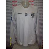 Camisa Santos Manga Longa - Camisa Santos Masculina no Mercado Livre ... 13eda29e8f326