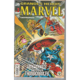 Grandes Herois Marvel 02 2ª Serie Abril 2 Bonellihq Cx04 A19