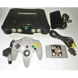 Consola Nintendo 64 N64 5 Meses Garantia Retromex Tcvg