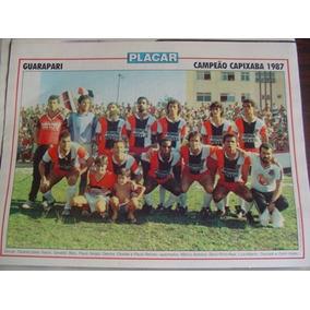 73c227af57 Poster Guarapari Campeão Capixaba 1987 Placar - Coleções e Comics no ...