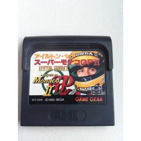 Ayrton Sennas Game Gear Japonesa