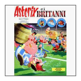 Asterix E I Britanni - Capa Dura - Edição Italiana - 1976
