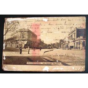 Cartão Postal Antigo Montevidéu Agraciada 1904